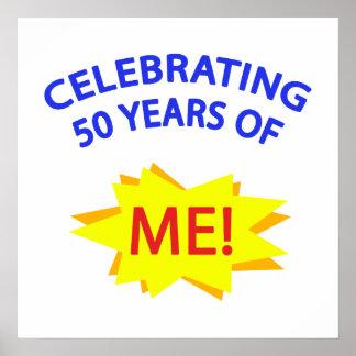 ¡Celebración de 50 años de mí! Póster