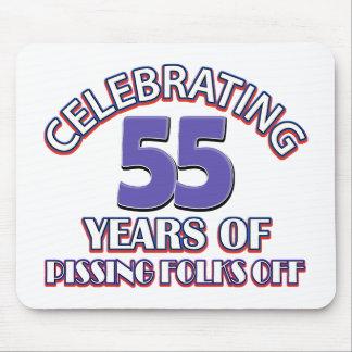 Celebración de 55 años de infierno de aumento tapetes de raton