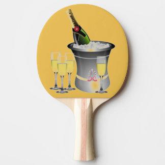 Celebración de Años Nuevos Pala De Ping Pong