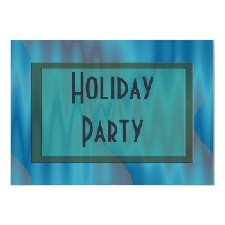"""celebración de días festivos de la turquesa invitación 5"""" x 7"""""""