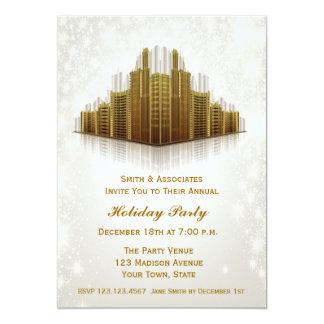 """Celebración de días festivos de los rascacielos invitación 5"""" x 7"""""""