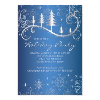 Celebración de días festivos elegante de los invitacion personal