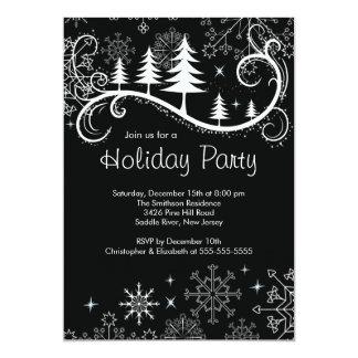 Celebración de días festivos elegante de los invitacion personalizada