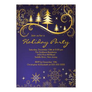 Celebración de días festivos elegante de los invitación personalizada