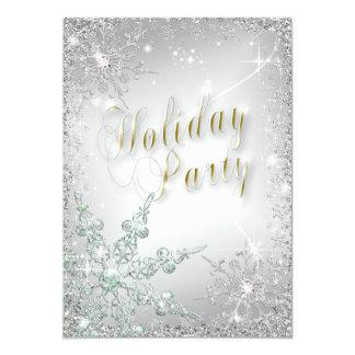 """Celebración de días festivos esmeralda de Frost de Invitación 5"""" X 7"""""""