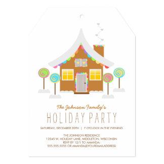 Celebración de días festivos linda de la casa de anuncio
