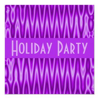 """celebración de días festivos púrpura invitación 5.25"""" x 5.25"""""""