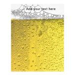 Celebración de la cerveza membrete a diseño
