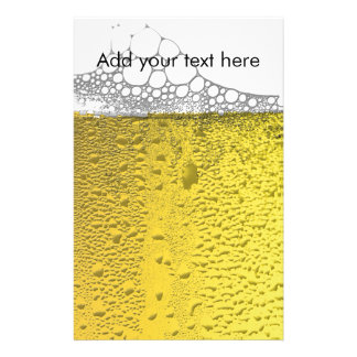 Celebración de la cerveza personalized stationery