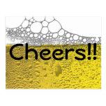 Celebración de la cerveza postal