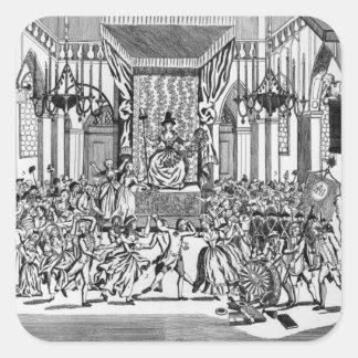 Celebración de la diosa de la razón colcomanias cuadradases