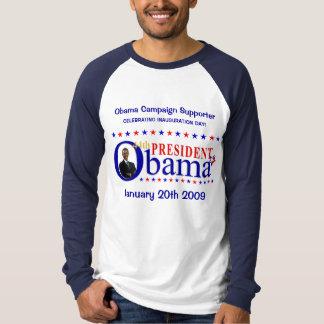 Celebración de la inauguración de Obama - la Polera
