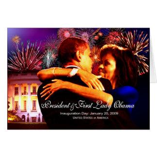 Celebración de la inauguración tarjeta de felicitación