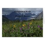Celebración de la invitación de la tarjeta de nota