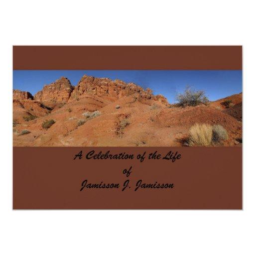 Celebración de la invitación de la vida, colinas