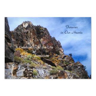 Celebración de la invitación de la vida, montañas