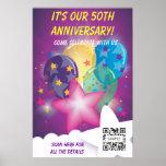 Celebración de la plantilla del poster