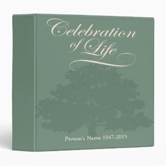"""Celebración de la vida con el libro de visitas del carpeta 1 1/2"""""""