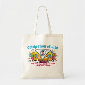 ¡Celebración de la vida!  Tote Bolsa De Mano