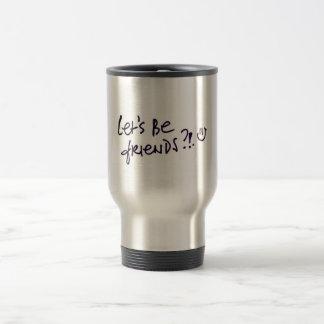 Celebración de los amigos del día de la amistad taza de café