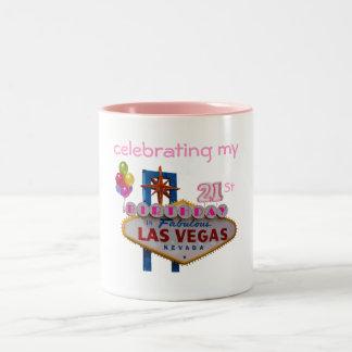 celebración de mi 21ra taza de Las Vegas del
