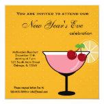 Celebración de Noche Vieja Invitación 13,3 Cm X 13,3cm