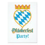 Celebración de Oktoberfest Invitación 12,7 X 17,8 Cm