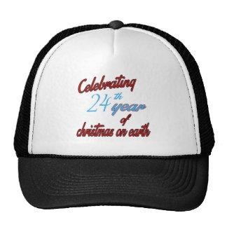 Celebración del 24to año de navidad en la tierra gorra