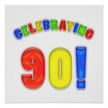Celebración del 90.o cumpleaños poster