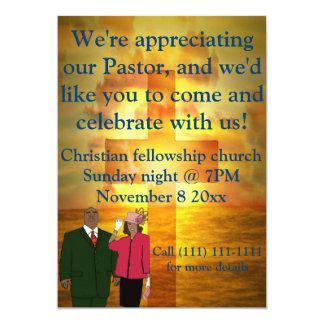 """Celebración del aprecio del pastor invitación 5"""" x 7"""""""