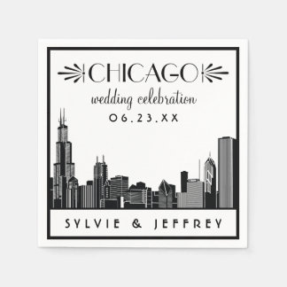 Celebración del boda de las servilletas el   servilletas desechables