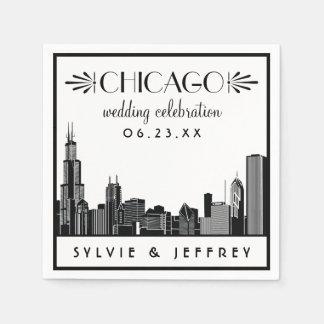 Celebración del boda de las servilletas el | servilletas desechables