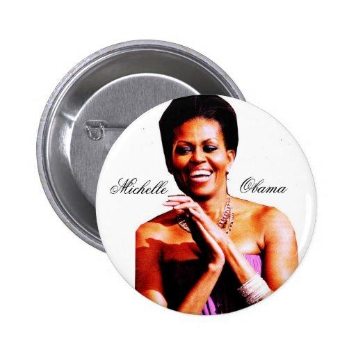 CELEBRACIÓN del botón de MICHELLE OBAMA