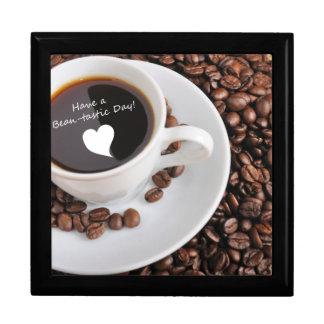 Celebración del café de la Haba-tastic Caja De Regalo