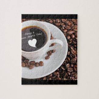 Celebración del café de la Haba-tastic Puzzle