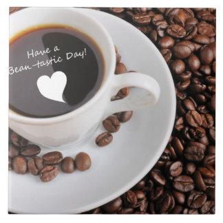 Celebración del café de la Haba-tastic Tejas