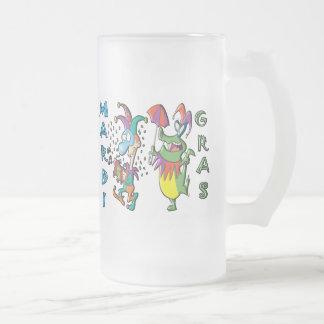 Celebración del carnaval tazas de café