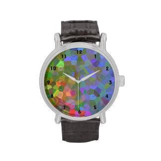 Celebración del color reloj