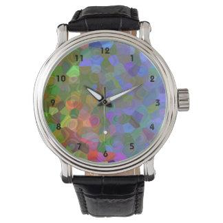 Celebración del color reloj de mano