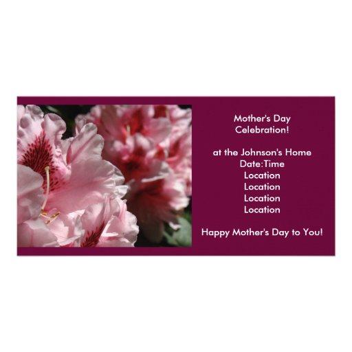 ¡Celebración del día de madre! La invitación invit Tarjetas Fotográficas Personalizadas