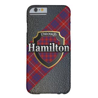 Celebración del escocés de Hamilton del clan Funda De iPhone 6 Barely There