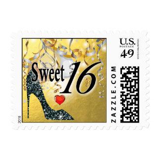 Celebración del estilete del brillo para el oro sellos postales