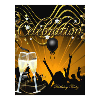 Celebración del fiesta de Champán del aviador del  Tarjetas Publicitarias