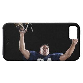 Celebración del futbolista iPhone 5 carcasa