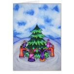 Celebración del invierno tarjeta