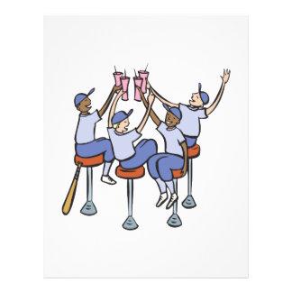 Celebración del juego del poste tarjeta publicitaria