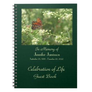 Celebración del libro de visitas de la vida, marip libreta