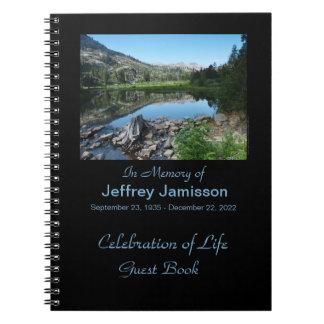 Celebración del libro de visitas de la vida, refle libros de apuntes