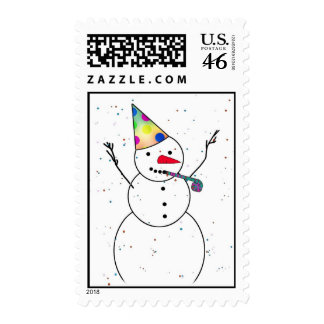 Celebración del muñeco de nieve