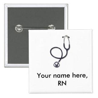 Celebración del oficio de enfermera y de la medici pin